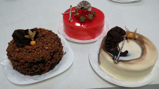 Mais de 20 sabores de tortas estão disponíveis na casa. Foto: Delícias da Prazeres/ Divulgação