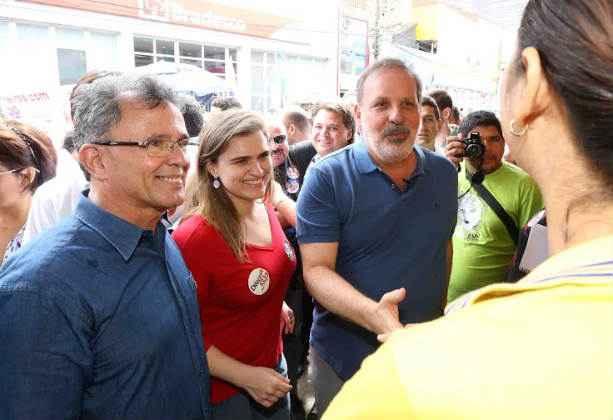 Paulo Rubem (à esquerda) será o novo presidente da Fundação Joaquim Nabuco (Fundaj). Foto: Alexandre Albuquerque/Divulgação. (Paulo Rubem (à esquerda) será o novo presidente da Fundação Joaquim Nabuco (Fundaj). Foto: Alexandre Albuquerque/Divulgação.)