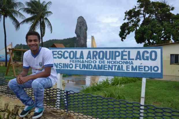 Rafael Ramires de Santana, de 16 anos, fará um intercâmbio na Austrália. Foto: Divulgação