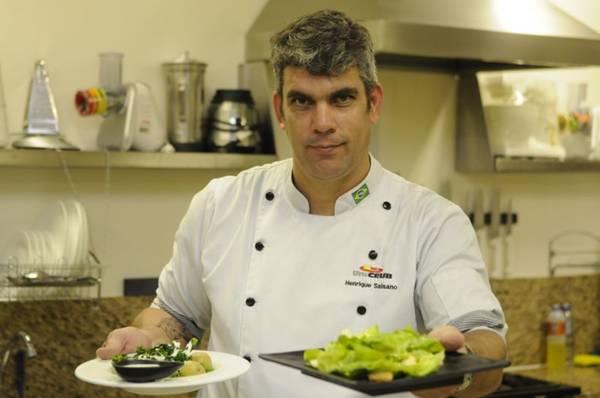 Para Henrique Salsano, os molhos são capazes de modificar os pratos. Foto: Bruno Peres/CB/D.A Press