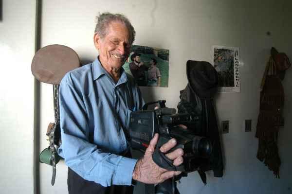 Simião em 2007, quando lançou o filme A Valise Foi Trocada. Foto: Ricardo Fernandes/ DP/ D.A.Press