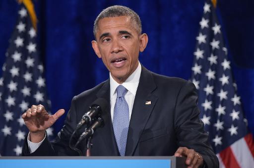 Obama é apoiado pela maioria dos americanos em relação ao acordo nuclear com o Irã. Foto: AFP/ MANDEL NGAN