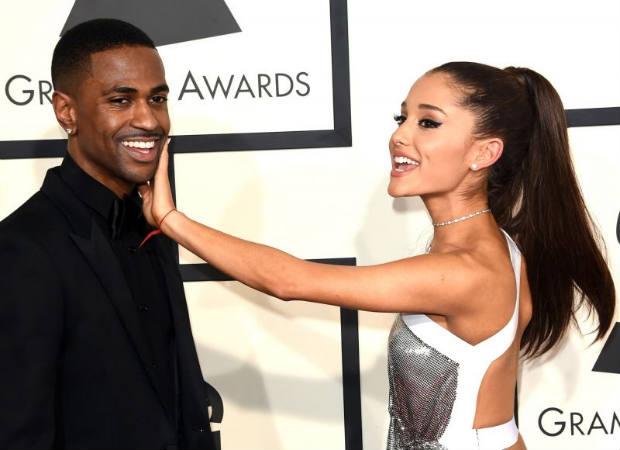 Big Sean e Ariana Grande ficaram juntos por cerca de oito meses. Foto: Jason Marritt/AFP