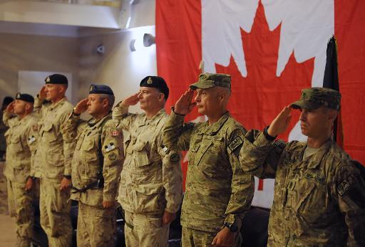Soldados do exército canadense são vistos em Kandahar, Afeganistão. Foto: AFP/Arquivos Shah Marai