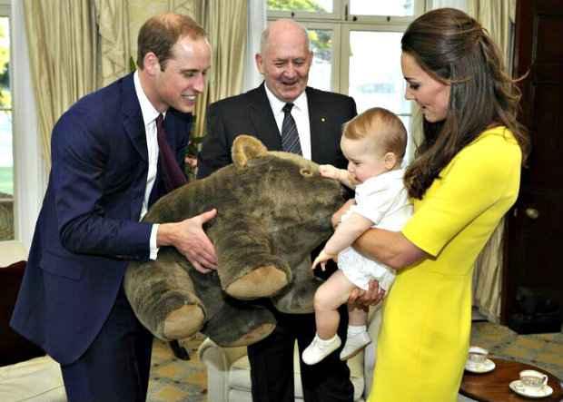Quando o príncipe George nasceu, em 2013, seu nome foi anunciado apenas dois dias depois. Foto: Auspic/ Commonwealth of Australia (Foto: Auspic/ Commonwealth of Australia)