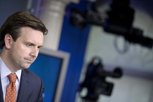 Josh Earnest, porta-voz da Casa Branca, em Washington, DC, no dia 13 de março de 2015. Foto: AFP/Arquivos BRENDAN SMIALOWSKI