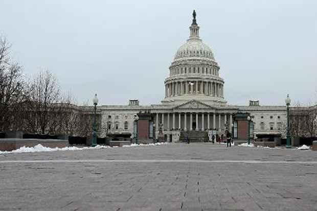 O Capitólio, em Washington, DC, no dia 19 de março de 2014. Foto: Chip Somodevilla/Getty Images North America/AFP