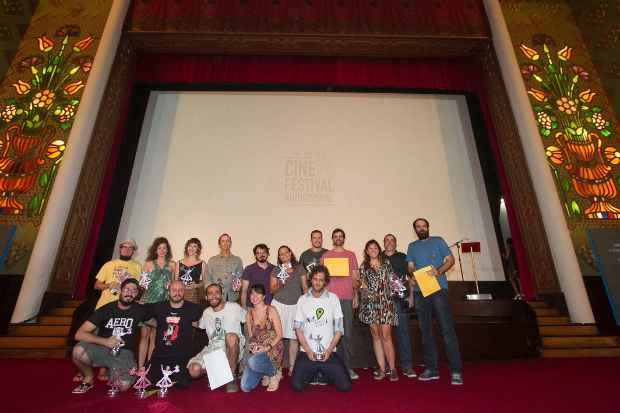Todos os premiados. (Foto: Mariana Guerra/Divulgação)