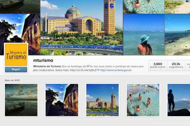 Perfil no Instagram possui mais de 20 mil seguidores. Foto: instagram.com/mturismo/Reprodução