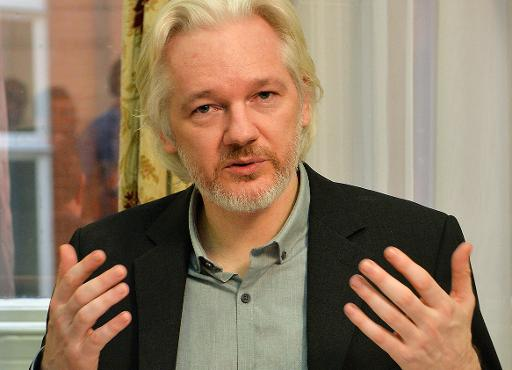 O fundador do WikiLeaks, Julian Assange. Foto: POOL/AFP John Stillwell