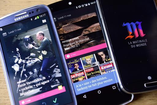 O aplicativo de celular