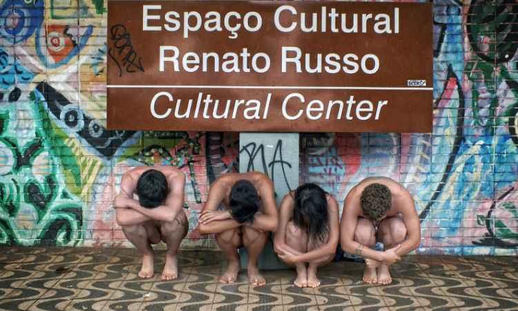 Espaço Cultural Renato Russo, uma das áreas vitais para a cultura local, está esquecido