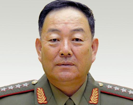 O ministro norte-coreano da Defesa, Hyon Yong-Chol. Foto: KCNA/AFP KCNA VIA KNS