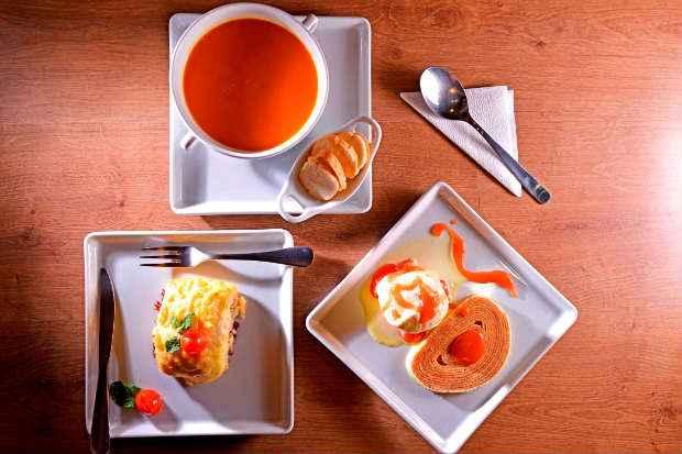 Trio sabor pernambucano do Prato na venda. Foto: Eudes Santana/Divulgação