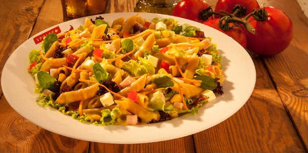 Segunda Verde é servido todas as segundas no novo menu do Spoleto. Foto: Spoleto/ Divulgação