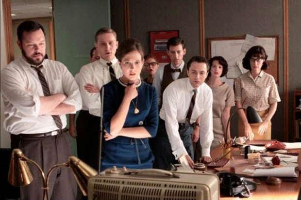 Série cativou os telespectadores ao mostrar o cotidiano de uma agência de publicidade na Nova York dos anos 60. Foto: HBO/Reprodução