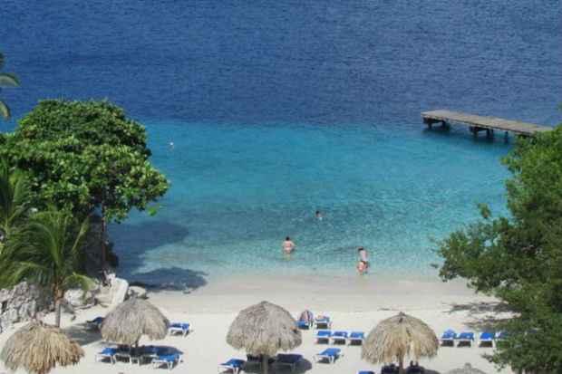 Curaçao tem inúmeras praias paradisíacas. Foto: Divulgação