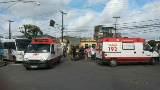 Pernambuco está em 10º lugar nos estados com mais acidentes de moto no país. (Foto: Arquivo/DP/D.A. Press)