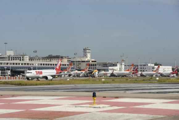 Dados da Abear mostram crescimento de 3,09% nos voos nacionais. Foto: Tânia Rego/Agência Brasil