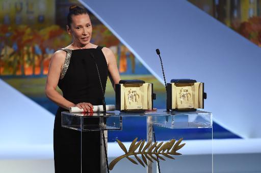 """A atriz americana Emmanuelle Bercot está no elenco de """"Mon Roi"""". Foto: Valery Hache/AFP"""