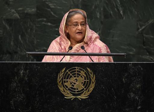 Sheikh Hasina pediu adoção de medidas por parte das autoridades. Foto: Timothy A. Clary/AFP