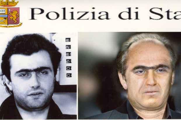 Interpol divulgou imagens que mostrariam como seria o rosto do mafioso décadas após fuga. Foto: Reprodução/ Interpol