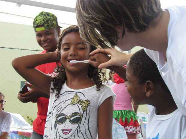 Cerca de 800 crianças já foram atendidas por projeto social. Foto: Por um Sorriso/Divulgação