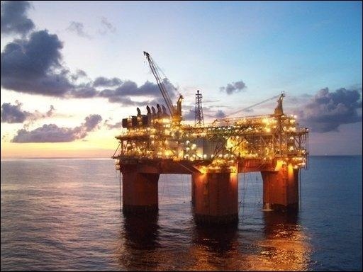 Plataforma de petróleo no Golfo do México. Foto: AFP Photo
