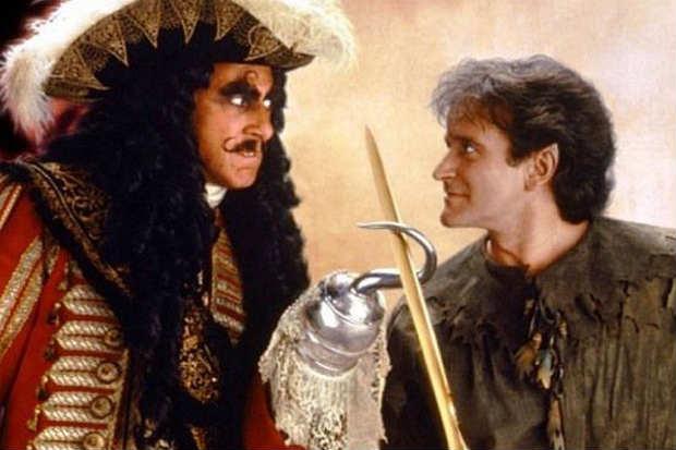 Um dos filmes mais lembrados na carreira de Robin Williams, é dirigido por Steven Spielberg e também traz Julia Roberts no elenco. Foto: Sony Pictures/Reprodução