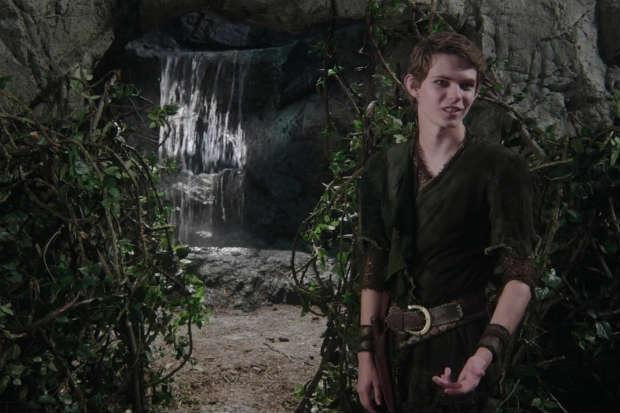 Na série, o garoto vira o vilão e Gancho o mocinho. Foto: ABC/Reprodução