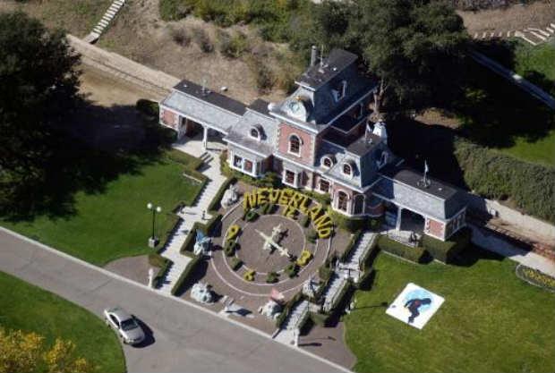 O famoso rancho do rei do pop, Michael Jackson, na Califórnia, Foi colocado à venda por 100 milhões de dólares. Foto: Getty/AFP Frazer Harrison