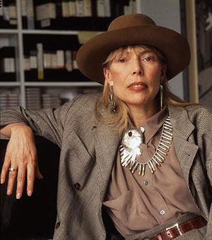 Discos dela das décadas de 1960 e 1970 figuram em listas dos melhores do rock. Foto: jonimitchell.com/Reprodução