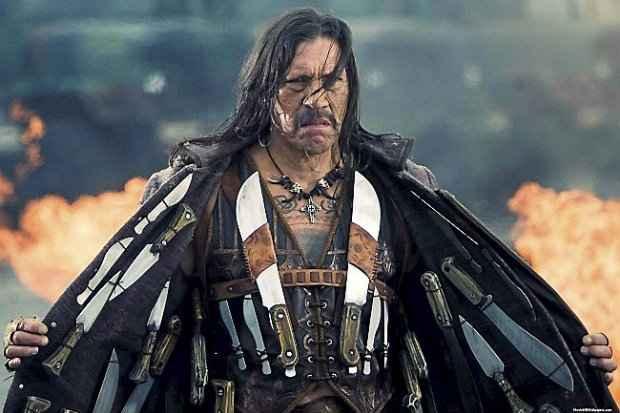 Danny Trejo fez fama em filmes de ação como