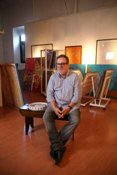 Galerista Fernando Neves. Foto: Paulo Paiva/DP/D.A.Press