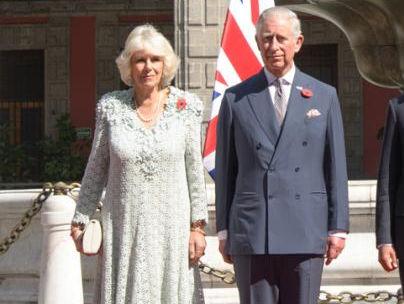 Príncipe Charles e Camilla Parker Bowles em visita ao México. Foto: Reprodução/ Presidencia de la República Mexicana