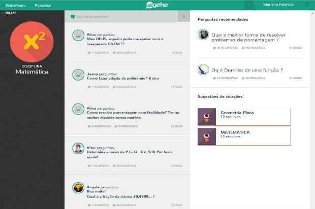 A rede social tem uma equipe de 5 pessoas, entre mentores, gerentes de produtos e programadores. Foto: Reprodução/Internet.