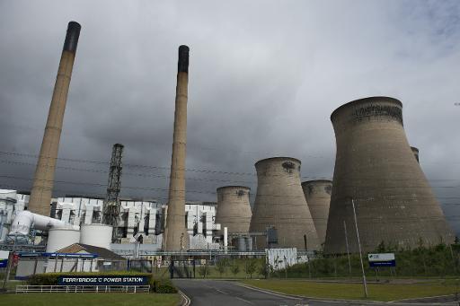 Uma usina de carvão é vista em Knottingley, Inglatera, no dia 24 de maio de 2015. Foto:OLI SCARFF/ AFP/Arquivos