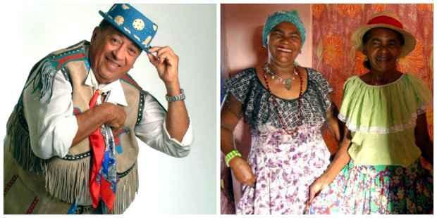 Genival Lacerda é nome marcante da cultura nordestina. As irmãs Baracho levaram adiante legado da ciranda. Foto: Montagem/DP