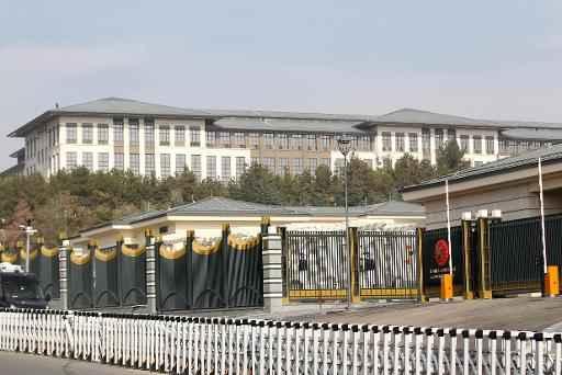 Palácio em Ancara tem quase mil cômodos. Foto: AFP/Arquivos ADEM ALTAN