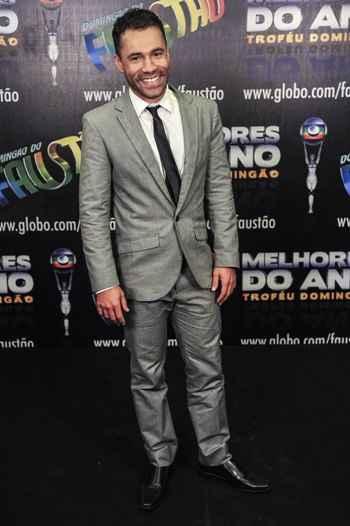 Rodrigo, sem a caracterização humorística. Foto: Matheus Cabral/TV Globo