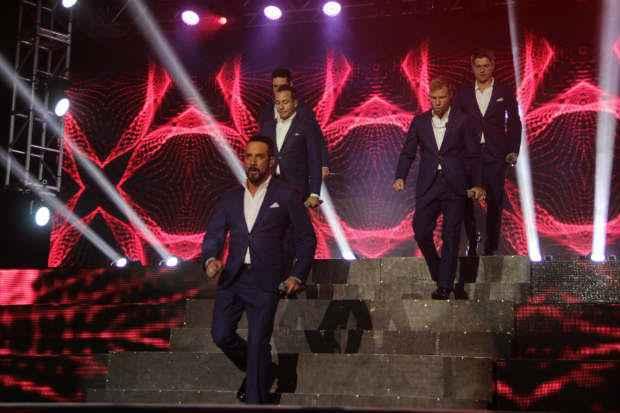 Backstreet Boys iniciou a apresentação com o hit The Call. Foto: Larissa Nunes/Divulgação