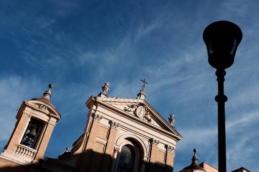 A igreja de Santa Maria in Aquiro, em Roma, no dia 27 de janeiro de 2015. Duas religiosas passaram todo o fim de semana presas no elevador de um convento em Roma, e finalmente foram soltas, informou a imprensa italiana. Foto: Alberto Pizzoli /AFP/Arquivos