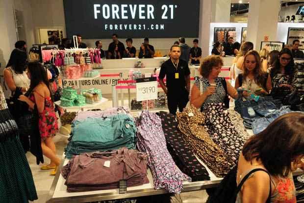 d9623451289 Forever 21 chega a Pernambuco em dezembro e terá loja no Shopping Recife