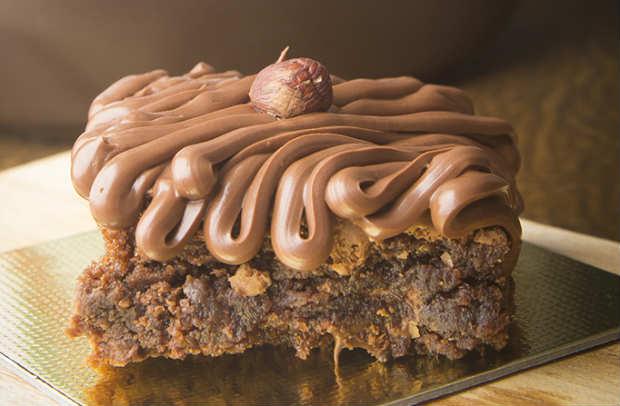 Brownie de Nutella está na lista dos mais pedidos. Foto: The Brownie Factory/ Divulgação