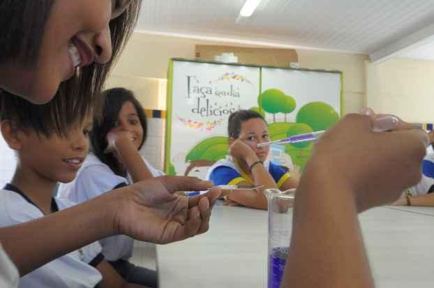 Escola Dom Bosco, em Jardim São Paulo, é exemplo na rede municipal do Recife. Foto: João Velozo/Esp.DP/D.A.Press.