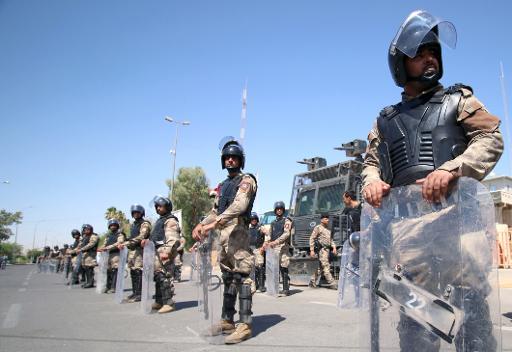 Forças de segurança iraquiana Foto: Haidar Mohammed Ali/ AFP Arquivos