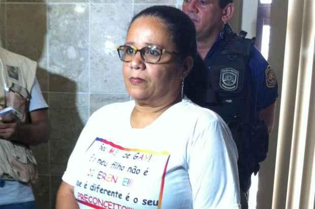 A mãe da vitima, Eleonora Pereira da Silva. Foto: Paulo Trigueiro/Esp. DP/D.A Press