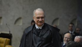 Luiz Fachin toma posse no cargo de ministro do Supremo Tribunal Federal em solenidade no plenário da Corte. Foto: Valter Campanato/Agência Brasil