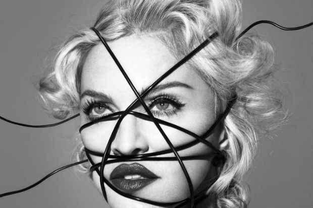 Madonna em capa do disco