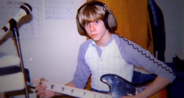 O filme utiliza imagens raras para recriar a saga de Cobain. Foto: HBO/Reprodução